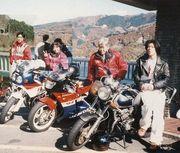 草木ダムにバイクで集う!!