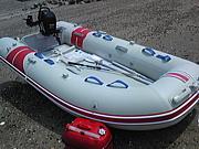 2馬力エンジン付ゴムボート