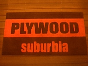 USED CLOTHING plywood suburbia