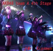 Mr. Kissman/AKB48 チームA