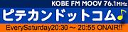 FMラジオ番組ピテカンドットコム