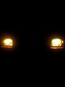 ガラスのヘッドライト