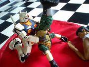 人形プロレス