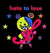 hate to lose (・∀・)