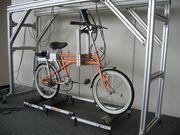 倒れない自転車