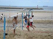 島根県でビーチバレーやりまくり