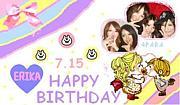 ★江里佳 Birthday★
