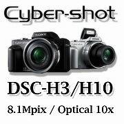 SONY Cyber-shot DSC-H3/H10/H20