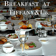 Tiffanyで朝食を@高級ホテル