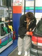 ガソリンの匂いが好き
