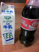 コーラ牛乳を世界に広める会