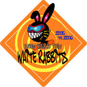 SNOWBOARDTEAM white rabbits