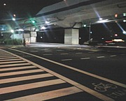 深夜のサイクリング