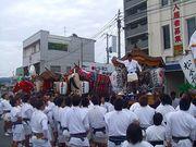 潮崎神社例大祭!松永の祭!