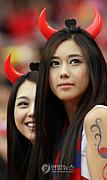 サッカー韓国代表を応援します。