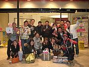 津田沼PARCOで記念撮影