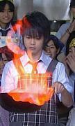 「燃えるぜー!!」