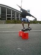 スケートボードinトヨスタ