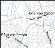 永福町と方南町