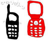 携帯二台持ってる