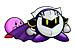 仮面の騎士とピンク玉