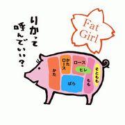 fat girl RIKA☆