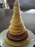 ホットケーキを重ねよう!!