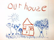 our house♪