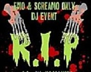 【R.I.P】EMO/SCREAMO DJ-EVENT