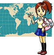 女子生徒を相手に考える地理教育