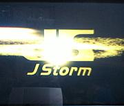 JStormにビクッ!