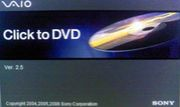 SONY Click to DVD
