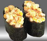 寿司はやっぱりマヨコーン!
