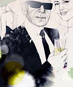 Karl Lagerfelds' Ponytail
