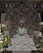 釈迦三尊像
