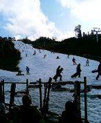 井川スキー場腕山!