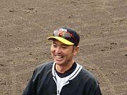 阪神 本田明浩ブルペン捕手