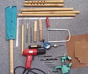 笛を作ろう! 管楽器自作の広場