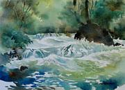 透明水彩画
