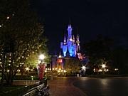ディズニーの夜景