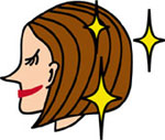 目指せツヤ美髪!髪の傷み編