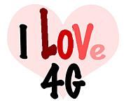 4Gに萌えてます