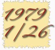1979年1月26日生まれ