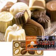 チョコレートを見ると手がでる