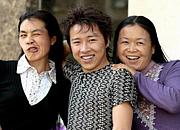 「山歌三人組」