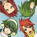 赤毛と緑っ子☆