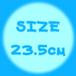 SIZE 23.5cm