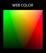 ウェブサイトの色彩を考える