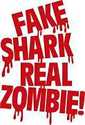 Fake shark-real zombie!