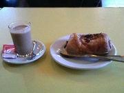 スペインでのカフェ